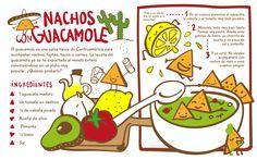 Nachos con #guacamole