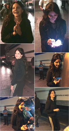 Lana Del Rey meeting fans after the show in San Diego #LDR