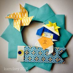"""子どもの日の飾り折り紙金太郎とこいのぼり"" Fun Crafts, Diy And Crafts, Crafts For Kids, Arts And Crafts, Children's Day Japan, Diy Paper, Paper Crafts, Asian Crafts, Japan Holidays"