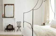 Canopy Bed Frame at Marietta Beasley's Home in Atlanta