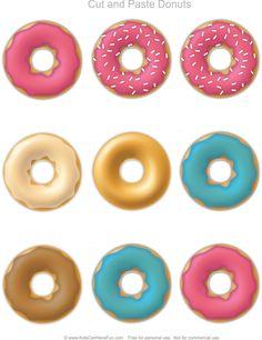 Cut & Paste Donuts