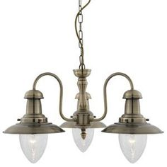 St Ives - Traditional Fishermans Lantern in Antique Brass finish 3 arm ceiling light - Houseoflights by Houseoflights, http://www.amazon.co.uk/dp/B007672L5M/ref=cm_sw_r_pi_dp_ezILrb198MHYP