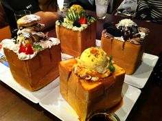Honey Toast in Tokyo - why order one when you can... | Tokyo Fashion
