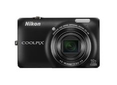 Nikon COOLPIX S6300 16 MP Digital Camera with 10x Zoom NIKKOR Glass Lens and Full HD 1080p Video (Black)