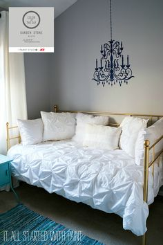 gray girl bedroom ideas: finding the perfect gray paint color