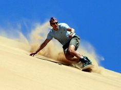 Sandboarding a Jeffrey's Bay ~ Jeffreys Bay ~ Eastern Cape ~ Sud Africa ~ Africa Grip socks can handle rough sand. Dubai Activities, Extreme Sports, Day Tours, Summer Fun, Places To Travel, South Africa, Ski, Safari, Oregon Coast