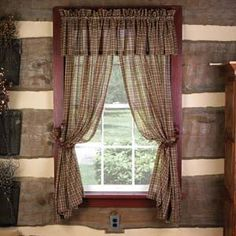 love country curtains!