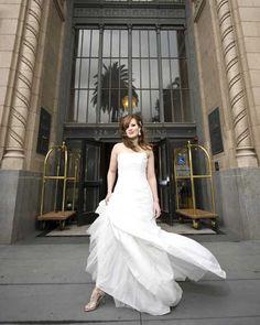Dress from Diamond Bridal Gallery, www.diamondbridalgallery.com & Photo by True Love Photo, www.truelovephoto.com
