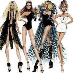 The Beyoncé Eras  - by Armand Mehidri,,,