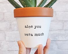 Mothers Day Present Looking Good Funny Planter Cactus Planter Cactus Decor hand . - Mothers Day Present Looking Good Funny Planter Cactus Planter Cactus Decor hand painted terracotta p - Suculentas Diy, Cactus Y Suculentas, Painted Plant Pots, Painted Flower Pots, Succulent Gifts, Succulent Care, Succulent Puns, Succulent Display, Small Succulents