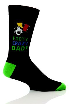SockShop Fathers Gift Novelty Socks In Gift Box - FOOTY CRAZY DAD!  £3.00