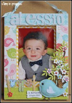 Stamp in Progress...: Battesimo Alessio - parte seconda -