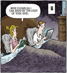 It's totally possible to enjoy print books and ebooks equally.