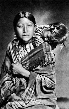Cheyenne mother 1907