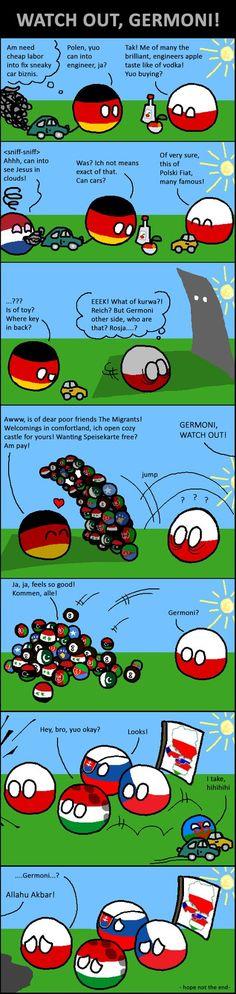 Watch Out Germoni! by KorNaXon