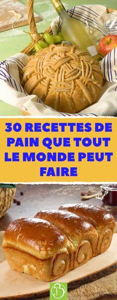 Faire soi-même son pain est très à la mode ! Vous n'avez pas encore pris le train en marche et vous voulez essayer la première recette dès aujourd'hui ? Ou bien vous êtes déjà à fond et vous cherchez maintenant la cerise sur le gâteau pour votre prochaine séance de pâtisserie ? Quoi qu'il en soit, vous êtes au bon endroit ! #recette #pain #maison #brioche #painauchocolat #croissant #miche #baguette