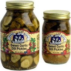 Amish Wedding Sweet Garlic Dill Pickles