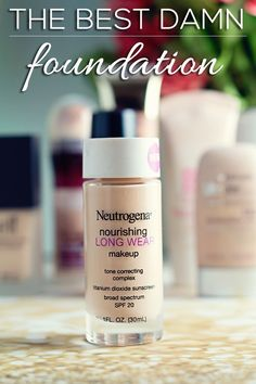 Another pinner says: The Best Damn Foundation! Check out why this foundation is the best of my makeup bag in 2014!