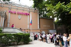 "Critical irony in Russia's special mention ""Fair Enough"" pavilion in 2014 Venice Biennale | Photo: Nikolay Zverkov. Courtesy of the Fair Enough exhibition | Bustler"