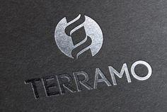 Logotype TERRAMO // Sofia Doudine Graphiste Webdesigner B2B Freelance