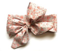 """Baby Headwrap """"Coral Floral"""" by SewFreshh on Etsy https://www.etsy.com/listing/222909046/baby-headwrap-coral-floral"""