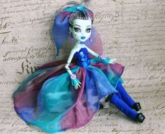 Monster High Clothes hand made Dress Jewelry Set by MonstersNight, $15.00 I love love this