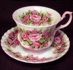 Royal Albert China Series - Fragrance Series - Rosa