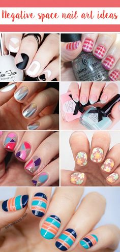 Negative Space Nail Art Ideas to Try Now