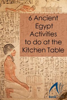 6 Ancient Egypt Activities to do at the Kitchen Table