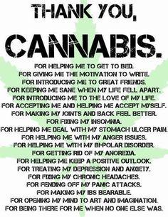 Thank You Cannabis