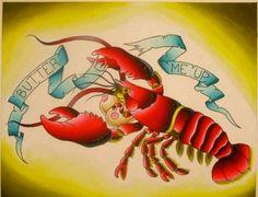 lobster tattoo - Google zoeken