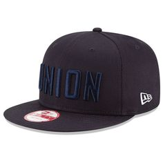 Men s Philadelphia Union New Era Navy 20th Anniversary Snapback Adjustable  Hat 08aeccb6a657