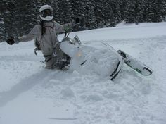 DEEP POWDER SNOWMOBILING: Beginner Tips and What to Consider Before You Try It