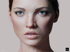ArtStation - CG FACE #03, Johan Rimer
