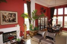 Wall Color Living Design Ideas, Pictures, Remodel and Decor