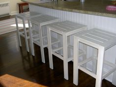 Ana White | Build a Simple Modern Bar Stools | Free and Easy DIY Project and Furniture Plans