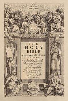 Only the most avid and wealthy Bible collectors ever have the opportunity to make a detailed comparison between the original printed texts. Become the KJV Bible scholar on this particular passage of scripture as you make a word-for-word comparison. 1611 King James Bible, Bible Online, Oldest Bible, Catholic Bible, Bible Translations, Templer, Church Of England, Biblical Art, Word Of God