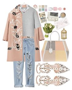 """""""Just Go Where The Wind Blows"""" by mabelfs ❤ liked on Polyvore featuring Marni, 3.1 Phillip Lim, Ek Thongprasert, Valentino, Fendi, American Apparel, KEEP ME, Holga and Korres"""
