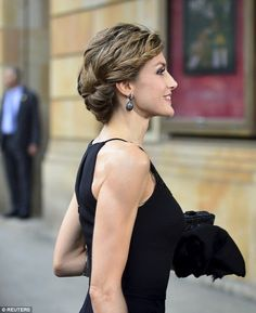 Royals & Fashion - Queen Letizia in Gijon, for a tribute to the filmmaker Francis Ford Coppola (winner of the Princess of Asturias prize for the Arts 2015).