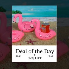 🏁 Today Only! 12% OFF this item. Today's Product  🔸 : DAILY DEAL - Today ONLY Inflatable Flamingo Soda Pop Holder Buy now   🔸 http://www.coast2coastbargains.com/products/flamingo-drink-can-inflatable-swimming-pool-beach-bathing-can-holder?utm_source=Pinterest&utm_medium=Orangetwig_Marketing&utm_campaign=Daily%20Deal%20-%20SAVE%2012%25  #dailydeal #onsale #fallseason #trends watch our DAILY DEALS for  #boho #clothing #yogamats  #digital #speakers #Bluetooth #mens #bowties #hats#womens…
