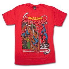 Spiderman Dock Ock Lives Comic T-Shirt