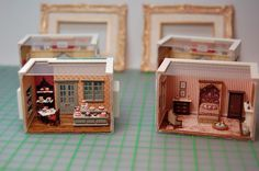 Miniature Miniatures - Nell Corkin: Two More Rooms