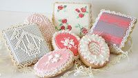 ... Lace cookies on Pinterest | Bakeries, Cookies and Lace baby shower