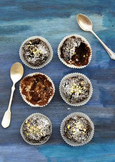 Anja's Food 4 Thought: Grain Free Chocolate Banana Muffins