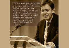 Alistair Begg was born in Glasgow, Scotland in He is the Senior Pastor of… Scripture Quotes, Faith Quotes, Bible Verses, Christian Quotes, Christian Faith, Reformed Theology, Knowing God, Word Of God, That Way