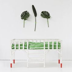 Falling in love with green 🌿 Koinobori bed by xo-inmyroom