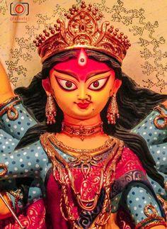 Durga Puja festival, India, Kolkata Happy Durga Puja, Durga Maa, Shiva Shakti, Durga Goddess, Durga Images, Lakshmi Images, Indian Gods, Indian Art, Iphone Wallpaper Photos
