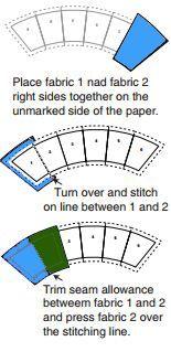WEDDING RING QUILT PATTERN: Wedding Ring Quilt Pattern Free