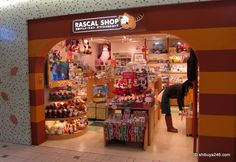 Japan anime stores   ... Shop didn't have too many customers. What anime is the rascal from
