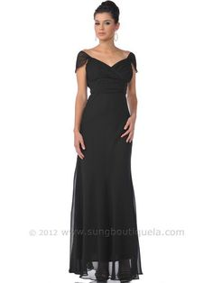 exciting long black plus size formal evening dresses for curvy ...